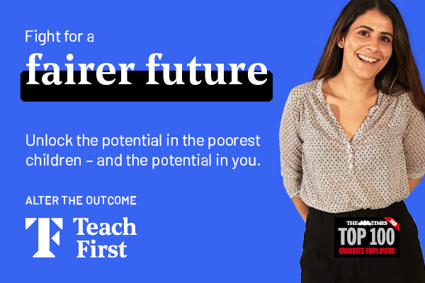 Ad: Teach First