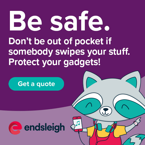 Ad: Endsleigh Student Insurance